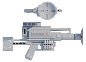 Heavy Particle Cannon by Myriagonic