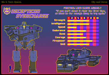 The 90s Strikes Back! Decepticon Overcharge by Myriagonic