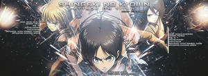 Shingeki No Kyojin: Attack on Titan by JamesxpGFX