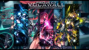 Official VocaWall PSD Pack+ v1 by JamesxpGFX