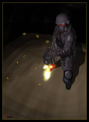 Mr. Death - Resident Evil by kerissakti