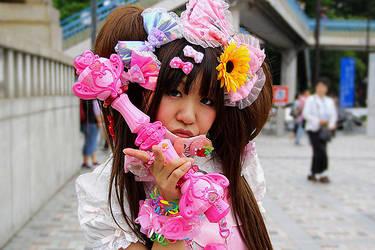 Harajuku Girl, Tokyo by sabdesign