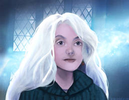 Luna Lovegood by as-obu