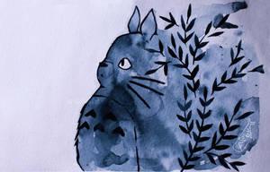 Totoro Flower by as-obu