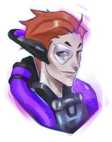 Moira Overwatch by as-obu