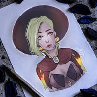 Witchy Mercy by as-obu