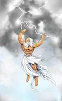 The Wrath of Zeus by GhostPepperArt