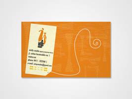 Name Card intiQs media by GhostPepperArt