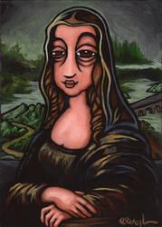 Light Hearted Woman by BROGart