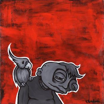 Little Birdy by BROGart