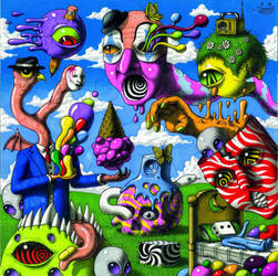 Another Psychedelic Album Cover by JimmyAlonzo