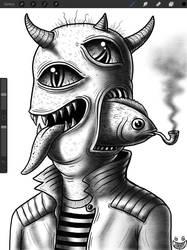 More IPad Drawing by JimmyAlonzo