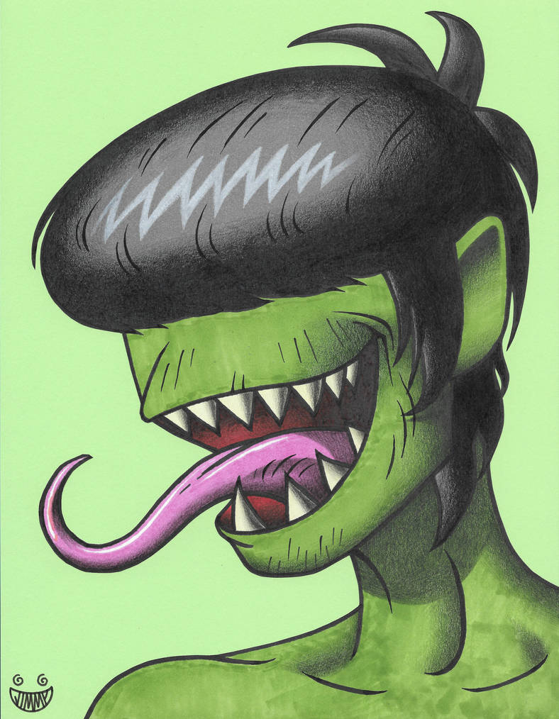 Mouth Murdoc by JimmyAlonzo
