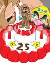 Mario 25th Anniversary by W-64