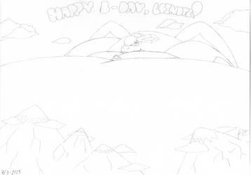 Happy B-Day, Lei by W-64