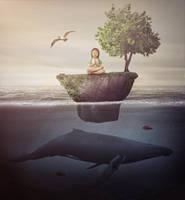 Peace in the Ocean by JohnSilva2017