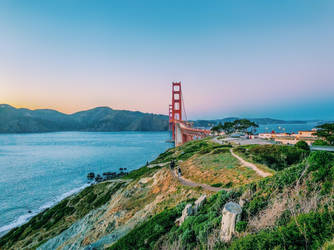 Golden Gate Bridge by linakononenko