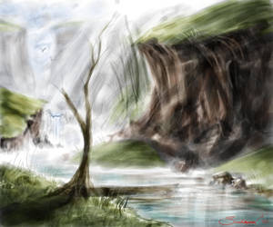 Ruddy Creek by TheWizpir