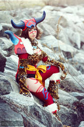Berserker Yuna by Ito6