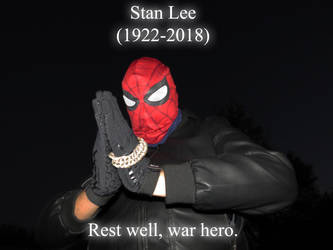 Praying to a Marvel Legend and a respected veteran by AVGNJr1985