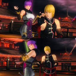 Ayane and Eliot would be like in Dead or Alive 6 by AVGNJr1985