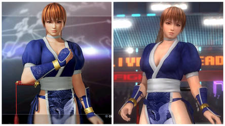 Kasumi Stylish Difference in DOA6 and DOA5 by AVGNJr1985