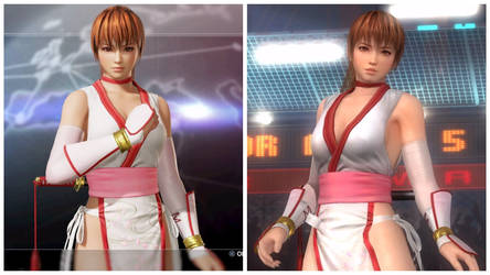 Kasumi Stylish Difference in DOA6 and DOA5-2 by AVGNJr1985