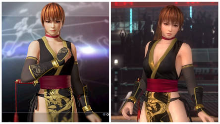 Kasumi Stylish Difference in DOA6 and DOA5-3 by AVGNJr1985
