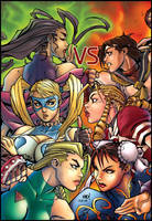 Street fighter girls by maehao