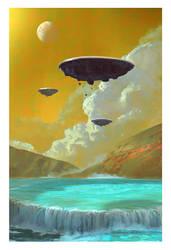 Retro Sci Fi by stayinwonderland