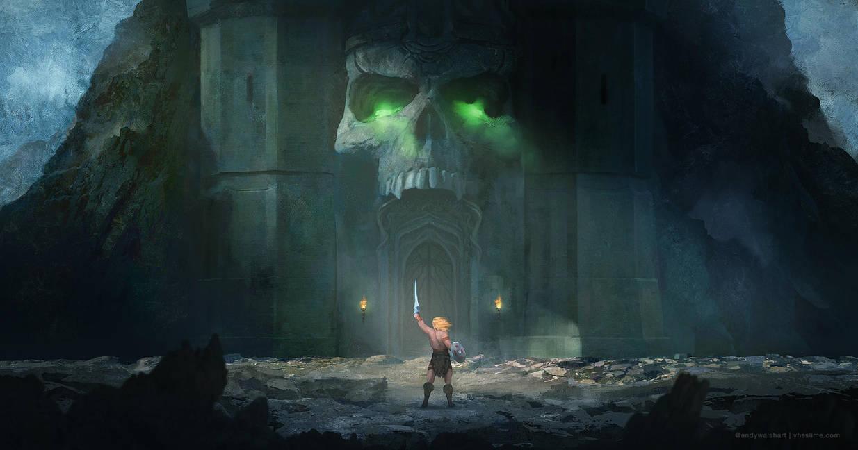 Castle Greyskull 03 by stayinwonderland