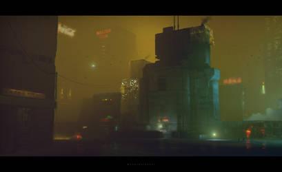 Cyberpunk Industrial by stayinwonderland