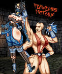 kitana was pulverized by sheeva (flawless victory) by the-korpcerp-corp