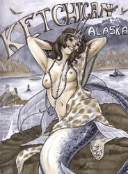 Alaskan Mermaid by Gottobestrange