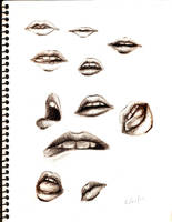 mouth study 2 by BlackMoonDeath