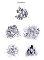 Elementals by WEAPONIX