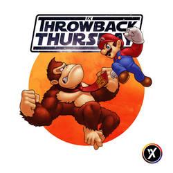 Donkey Kong VS Mario by WEAPONIX