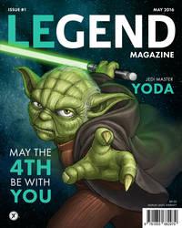 Legend Magazine: Yoda by WEAPONIX