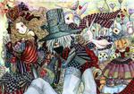 Alice - Kakashi in Wonderland by Hellobaby