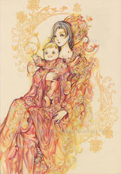 Mother and child by Hellobaby
