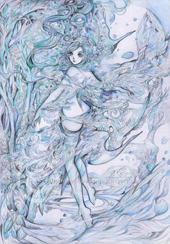 Blue Dance by Hellobaby