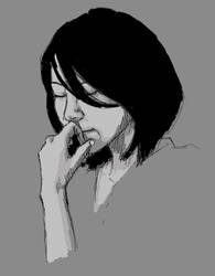 thinking by A4Lien