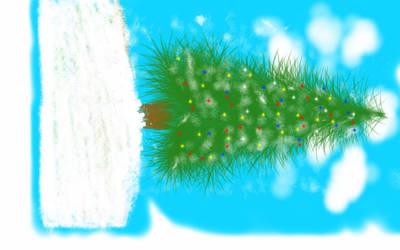 Sketch a Christmas Tree by Lmoniz