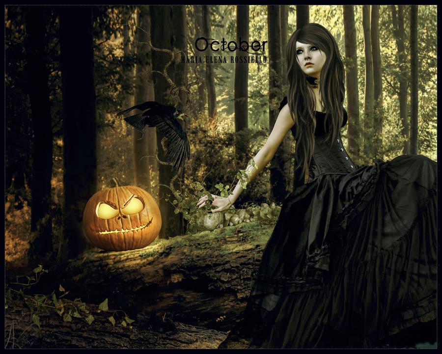 October by CobaltOfMarch