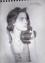 Anne Hathaway by ill-91s