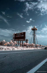 infrared road by ilimel