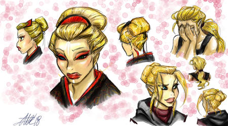 Sonny's Hairstyles by bugsytrex