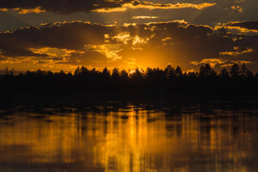 Golden Lake by CaseyNealArtwork