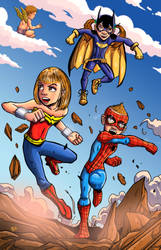 Young Heroes Commission by dreno360