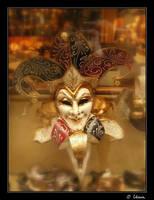 Mocking mask II by velvet-eyes